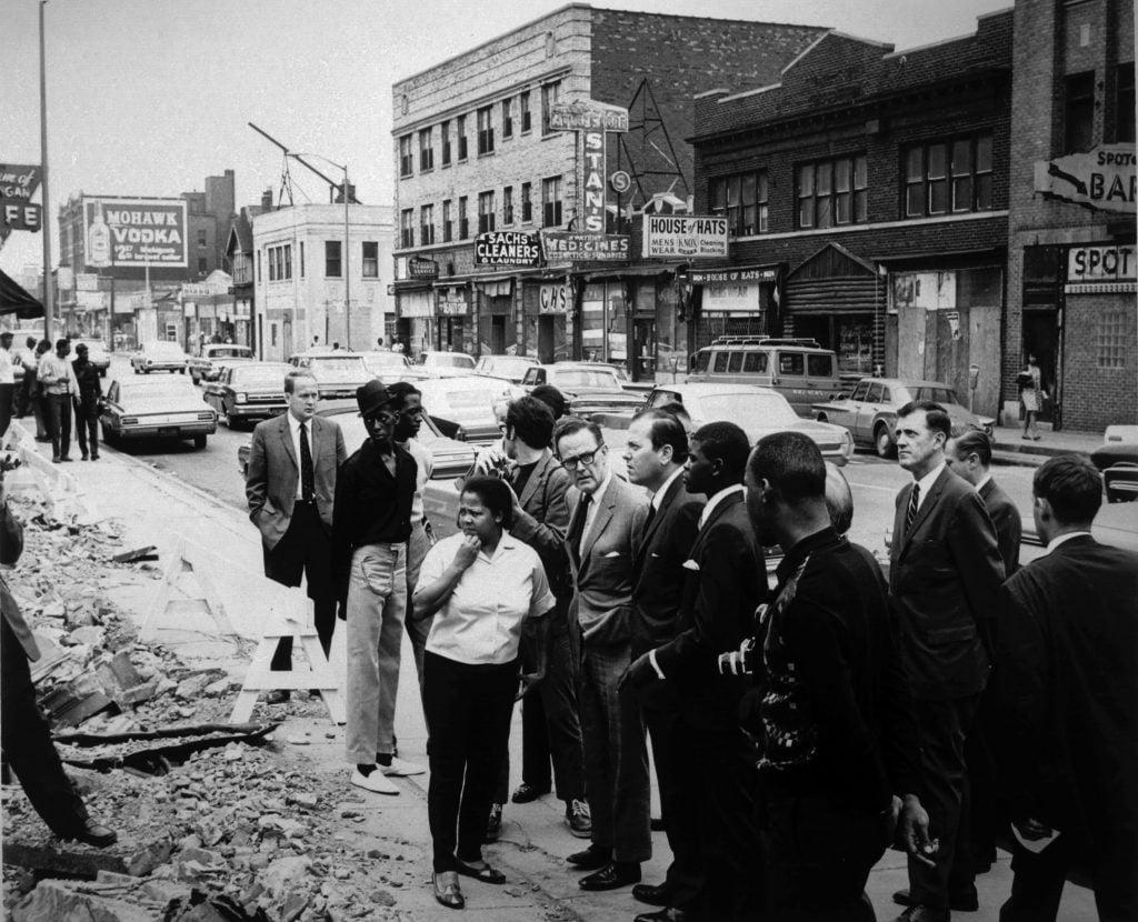 1967 Detroit Riot (Credit: Bentley Image Bank, Bentley Historical Library)