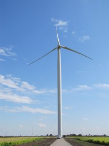 Wind turbines in Gratiot County, MIchigan (Photo courtesy of Greater Gratiot Development)