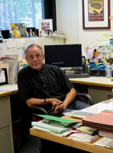 Bob Marans in his office at ISR (Photo by Eva Menezes)