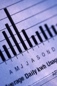Daily Usage Graph on Energy Bill. Photo by Thinkstock.