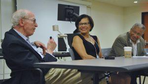 L-R: Gerald Gurin, Belinda Tucker and James Jackson. Photo by Philip Dattilo.