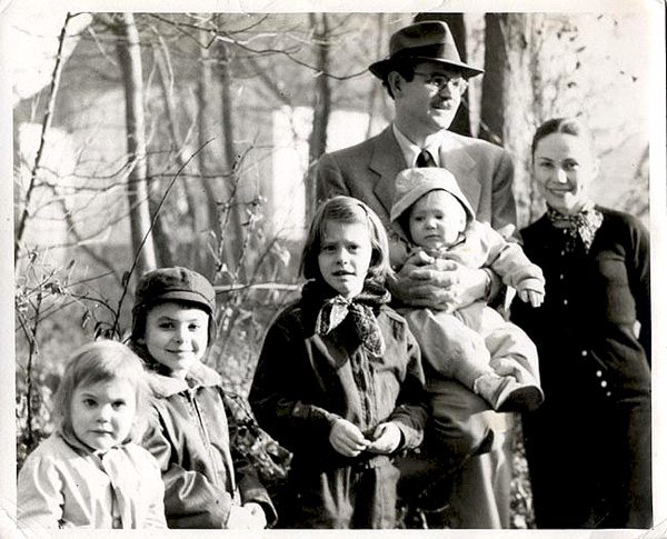 A family in the 1950s, when the Growth of American Families survey began