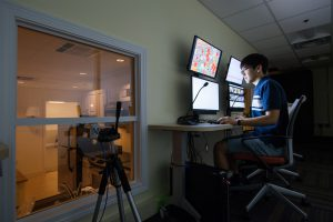 Researchers use two-way windows and mirrors to observe how people move around in our most familiar environment: home.