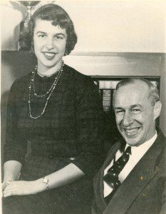 Patricia Likert Pohlman and her father, ISR Founder, Rensis Likert