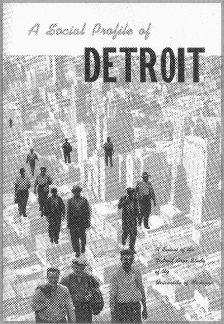 A Social Profile of Detroit book cover