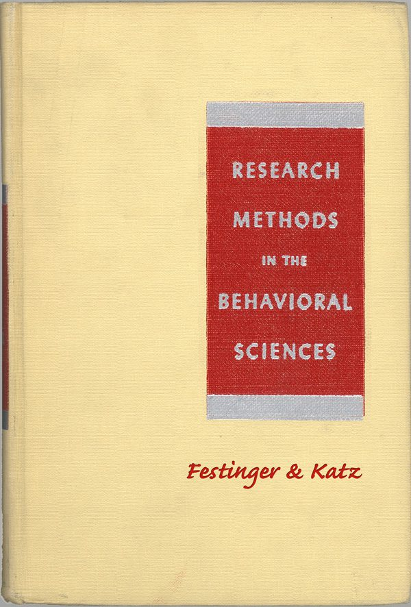 Research Methods in the Behavioral Sciences book cover